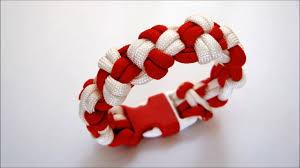 cross knot bracelet images How to make quot double cross knot quot paracord bracelet jpg