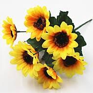 artificial sunflowers sunflowers artificial flowers search lightinthebox