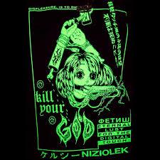 kill your god x kelsey niziolek digital touch glow in the dark