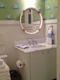 nautical bathroom mirrors nod to nautical bathroom interior design for nautical boys bathroom cottage of vanity mirrors