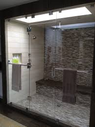 glass panel shower door frameless shower doors u0026 enclosures california reflections