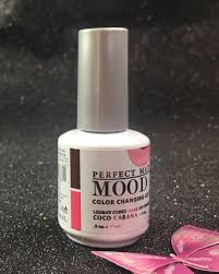 lechat coco cabana perfect match mood color changing gel polish