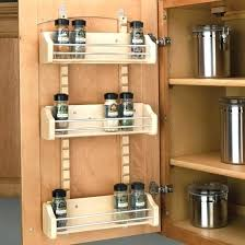 kitchen cabinet door organizers cabinet door lid rack organizer cupboard door rack door mount