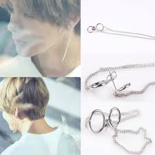 bts earrings bts v earrings k wave on carousell