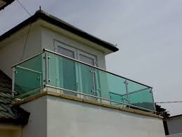 stainless steel balconies custom made contemporary styles from