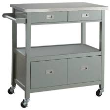 metal top kitchen island metal top kitchen islands and carts houzz