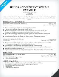 Sample Resume For Accounting Internship Accounting Resume Examples Examples Of Accounting Resumes Resume