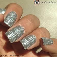 nailart and things checkered nails