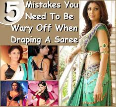 Drape A Sari 5 Mistakes You Need To Be Wary Off When Draping A Saree