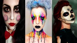 Diy Makeup Halloween by Top 50 Diy Halloween Makeup Compilation 2017 Bestgirl