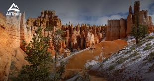 bryce map pdf best trails in bryce national park alltrails com