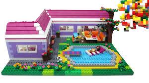 lego friends bungalow by misty brick youtube