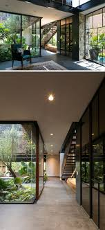 houses with courtyards this contemporary house in mexico is surrounded by nature