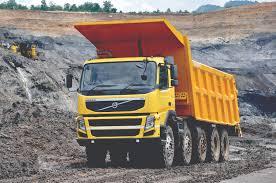 volvo trucks india volvo fm 480 10 4 rigid day cab with tipper body india u00272010 u201313
