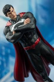 52 superman statue popcultcha convention exclusive black