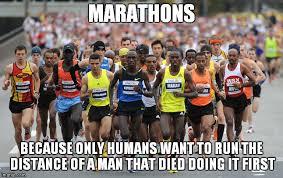 Running Marathon Meme - marathon imgflip