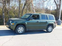 green jeep patriot 2007 used jeep patriot 4wd 4dr sport at toyota of fayetteville