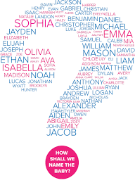 baby names ideas from chickie