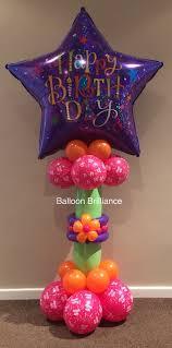 50th birthday balloon delivery balloon column balloons balloon columns birthday