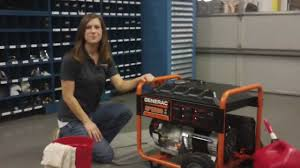 troubleshooting a generac portable generator with stale gasoline