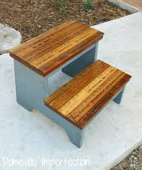 childrens step stools woodenkids step stool with yardstick steps