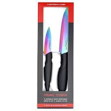 couteau cuisine ceramique couteau cuisine ceramique set de 2 couteaux de cuisine titanium lame