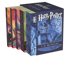harry potter boxed set books 1 5 by j k rowling