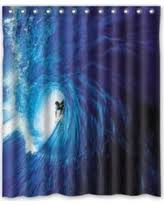 Surfer Shower Curtain Fall Sale Mohome Jesus Knocking On Your Door Religious Shower