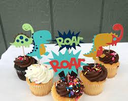 dinosaur cupcakes dinosaur cupcakes etsy