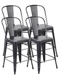 Tolix Bistro Chair Amazon Com Eurosports Tolix Style Chair 3007 Abs 4 Metal