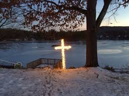 Diy Christmas Lights by Build Your Own Lighted Christmas Cross Outside Decoration With