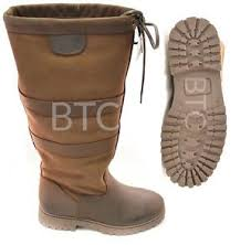 womens yard boots womens leather chatsworth waterproof country