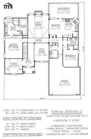 House Planes by 4 Bedroom House Plans One Story