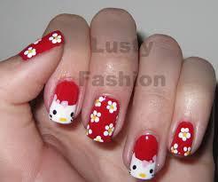 hello kitty nails designs lustyfashion