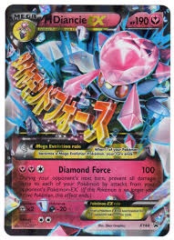 m diancie ex xy44 regular size promo cards outlet