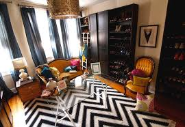 Black And White Zig Zag Rug Black And White Chevron Rug Contemporary Closet Saudah