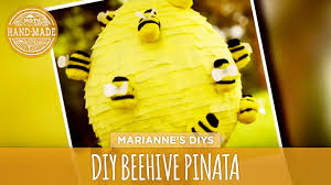bumblebee pinata how to make a beehive piñata hgtv handmade