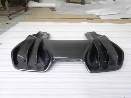 maserati hypercar hypercar mclaren mp4 12c 650s rz style carbon fiber rear diffuser
