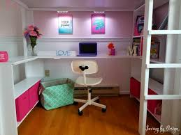 Diy Loft Bed With Desk Diy Loft Bed How To Build A Loft Bed With Desk And Storage