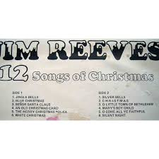 12 songs of christmas by jim reeves lp with maziksound ref