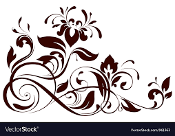 floral ornament royalty free vector image vectorstock