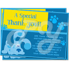 clues personalized thank you cards