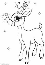 plush design ideas reindeer coloring pages 2 christmas pages