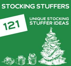 121 unique stocking stuffer ideas dodo burd