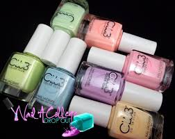 nail a college drop out color club poptastic pastel neon nail art