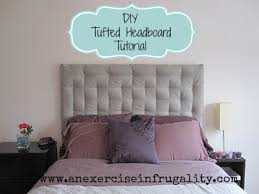 How To Make A Tufted Headboard Diy Tufted Headboard Tutorial An Exercise In Frugality