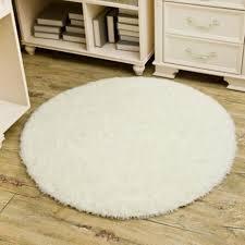tapis rond chambre b tempsa tapis rond peluche anti dérapant salle de bain chambre beige