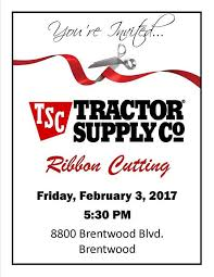 black friday tractor supply sale brentwood tractor supply company ribbon cutting set for feb 3
