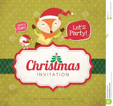 christmas invitation card stock images image 32431174