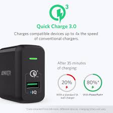 aliexpress com buy quick charge 3 0 anker 18w usb wall charger